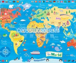 страны мира 7 букв
